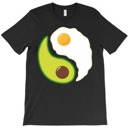 Egg Ying Yang T-shirt Designed By Badaudesign