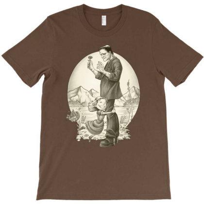 Monster Hug T-shirt Designed By Saqman