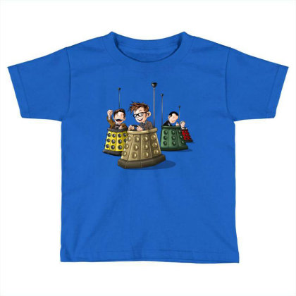 Bump The Doctors Toddler T-shirt Designed By Saqman