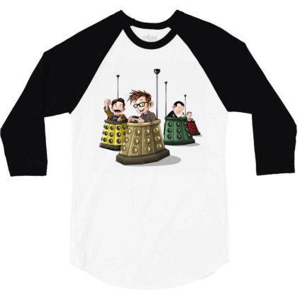 Bump The Doctors 3/4 Sleeve Shirt Designed By Saqman