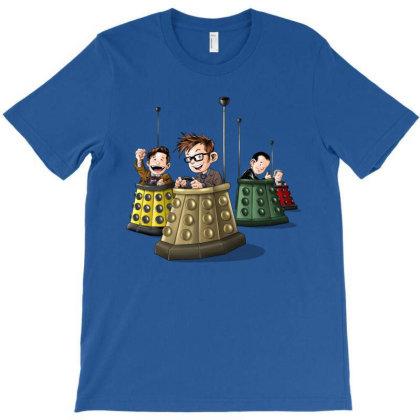 Bump The Doctors T-shirt Designed By Saqman
