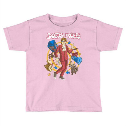 Doctor Powers Toddler T-shirt Designed By Saqman
