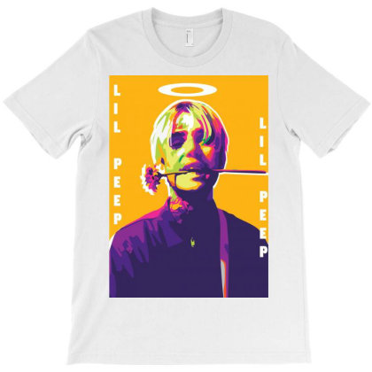 Lil Peep Colour Full T-shirt Designed By Rastreo.art