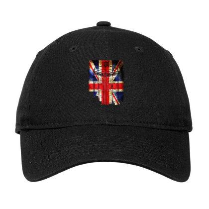 Tardis British Flag Adjustable Cap Designed By Killakam
