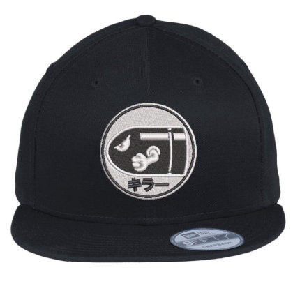 Bullets Embroidered Hat Flat Bill Snapback Cap Designed By Madhatter