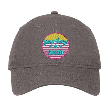 Yang Gang 2020 Embroidered Hat Adjustable Cap Designed By Madhatter