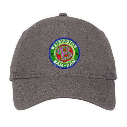 Washington Bam Bam Embroidered Hat Adjustable Cap Designed By Madhatter