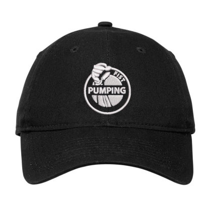 Pumping Embroidered Hat Adjustable Cap Designed By Madhatter