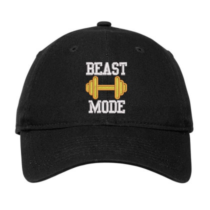 Beast Mood Embroidered Hat Adjustable Cap Designed By Madhatter