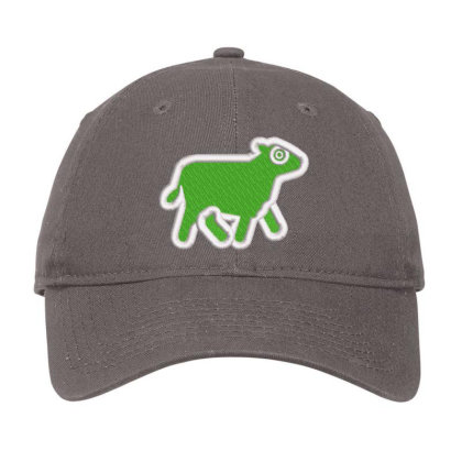 Cow Embroidered Hat Adjustable Cap Designed By Madhatter