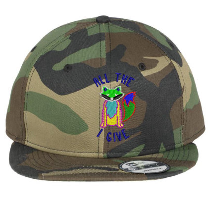 All The I Give Embroidered Hat Flat Bill Snapback Cap Designed By Madhatter