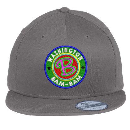 Washington Bam Bam Embroidered Hat Flat Bill Snapback Cap Designed By Madhatter