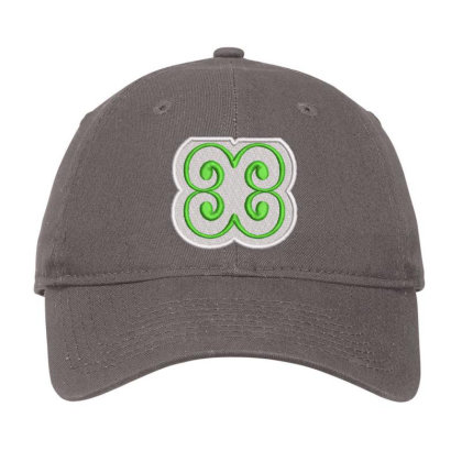 Flower Embroidered Hat Adjustable Cap Designed By Madhatter