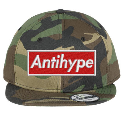 Antihype Embroidered Hat Flat Bill Snapback Cap Designed By Madhatter