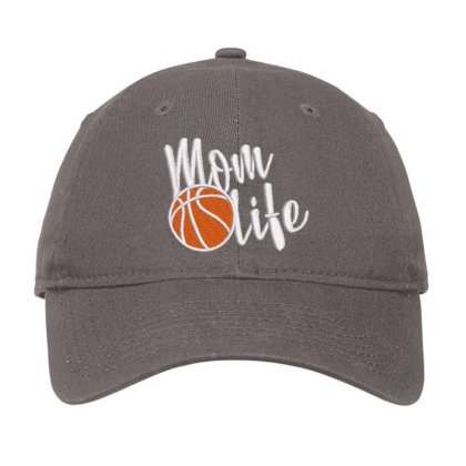 Mom Life Embroidered Hat Adjustable Cap Designed By Madhatter