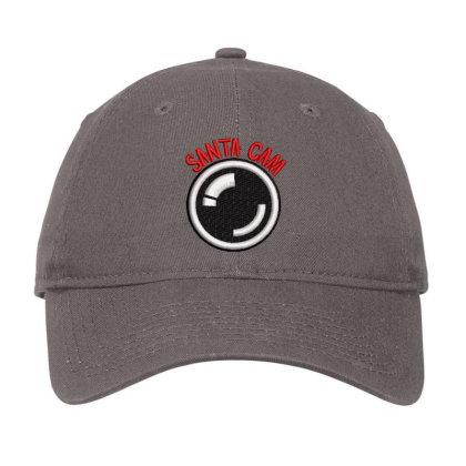 Santa Cam Embroidered Hat Adjustable Cap Designed By Madhatter
