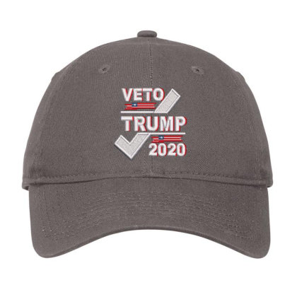 Veto Trump 2020 Embroidered Hat Adjustable Cap Designed By Madhatter