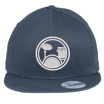Logopit Embroidered Hat Flat Bill Snapback Cap Designed By Madhatter
