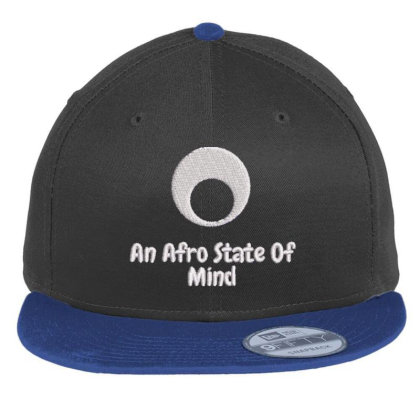 An Aftro State Of Mind Embroidered Hat Flat Bill Snapback Cap Designed By Madhatter