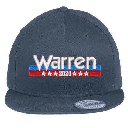 Warren 2020 Embroidered Hat Flat Bill Snapback Cap Designed By Madhatter