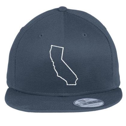 California Flat Bill Snapback Cap Designed By Madhatter