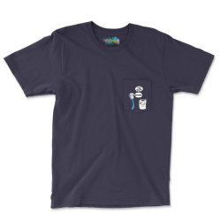 I Hate My Job - Seriously? - Funny Sayings Pocket T-shirt Designed By Tshiart