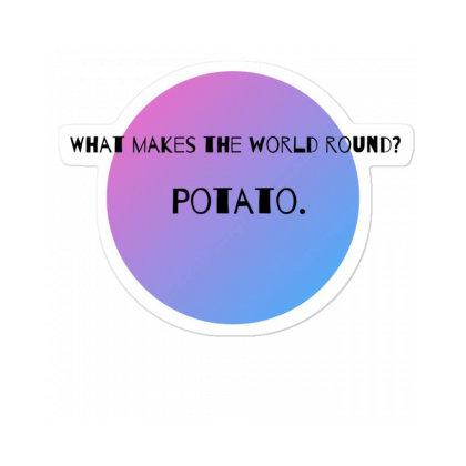 Potato! Sticker Designed By Shrez