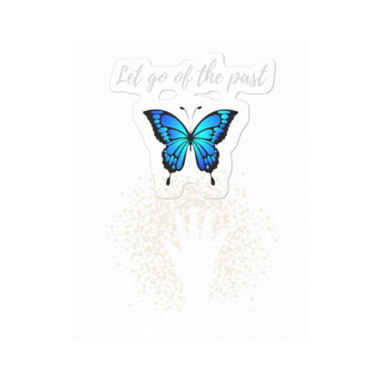 Let Go Of The Past Sticker Designed By Fashionnetwork