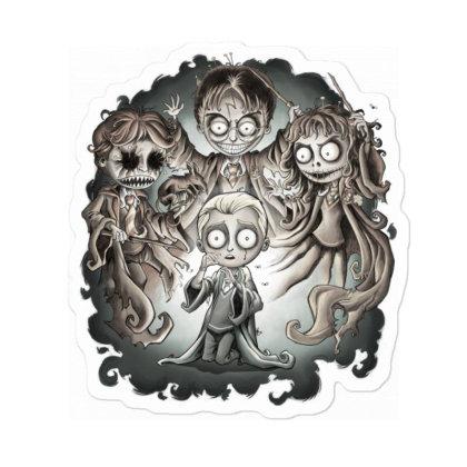 Draco's Nightmare Sticker Designed By Saqman