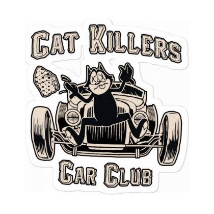 Cat Killer Car Club Sticker Designed By Leo890101