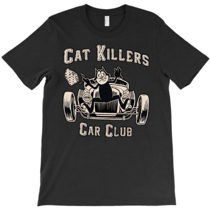Cat Killer Car Club T-shirt Designed By Leo890101