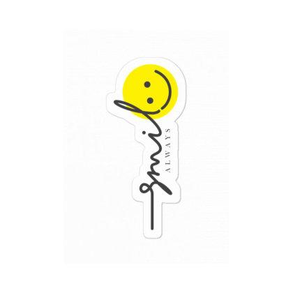 Smile Sticker Designed By V8 Visuals