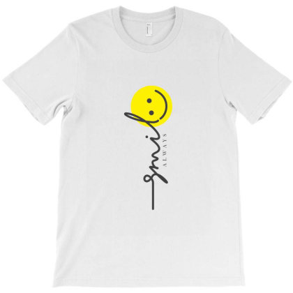 Smile T-shirt Designed By V8 Visuals