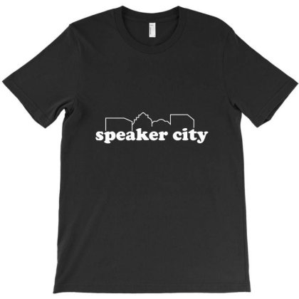 Speaker City T-shirt Designed By Nur456