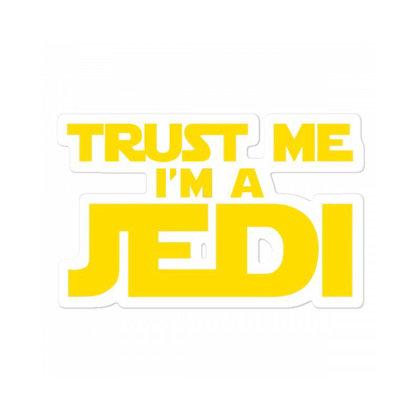 Trust Me, I'm A Jedi Sticker Designed By Nur456