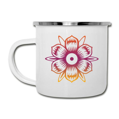 Flower T-shirt, Art Tshirt, Positive Vibe Tshirt Camper Cup Designed By T-shirt Art World