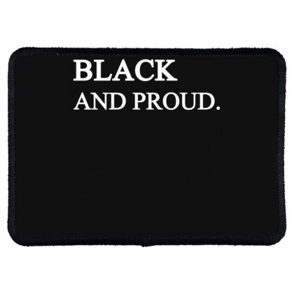 Black And Proud 2020 Rectangle Patch Designed By Faical