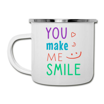 You Make Me Smile Camper Cup Designed By Cypryanus