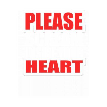 Please Scream Inside Your Heart Sticker Designed By Faical