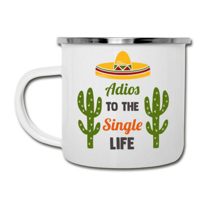 Adios To The Single Life Camper Cup Designed By Qudkin