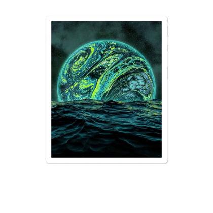 Green Ocean Sticker Designed By Porya97