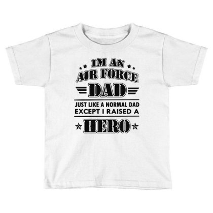 Airforce Dad Toddler T-shirt Designed By Ron Pictures