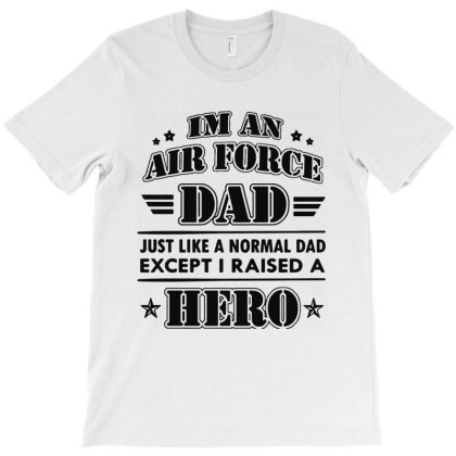 Airforce Dad T-shirt Designed By Ron Pictures