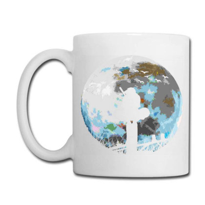 Fighter On The Moon Coffee Mug Designed By Ron Pictures