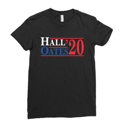 Hall And Oates 2020 Ladies Fitted T-shirt Designed By Angel Tees