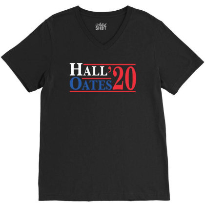 Hall And Oates 2020 V-neck Tee Designed By Angel Tees