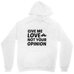love not your opinion Unisex Hoodie | Artistshot