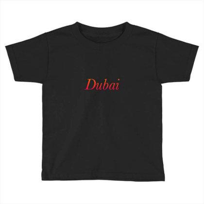 Dubai Toddler T-shirt Designed By Mounir9997