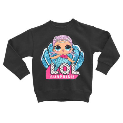 Lol Surprise Mermaid Toddler Sweatshirt Designed By Badaudesign