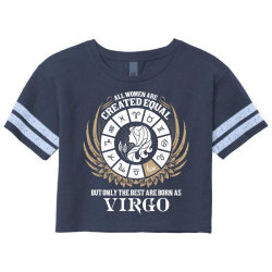 Virgo Women Scorecard Crop Tee Designed By Tshiart